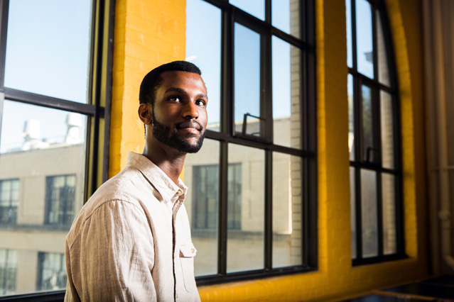 Grad student Billy Ndengeyingoma studies affordable housing in Africa