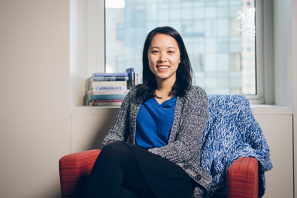 Marshall Scholar Olivia Zhao searches for stories hidden in data